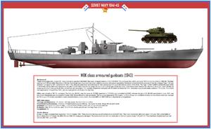 ww2 MBK class gunboats