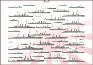 ww1 japanese Navy