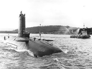 HMS Conqueror - Famous sub of the Falkland War