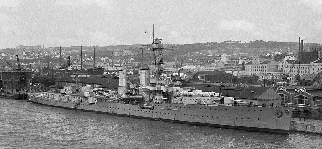 Emden in libon 1935