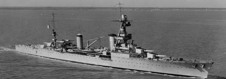 French heavy cruiser Suffren in Hampton Roads on 15 October 1931