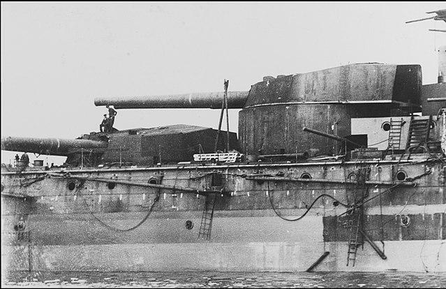 HMS Neptune 12-in guns