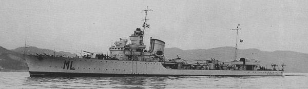 Maestrale in 1941