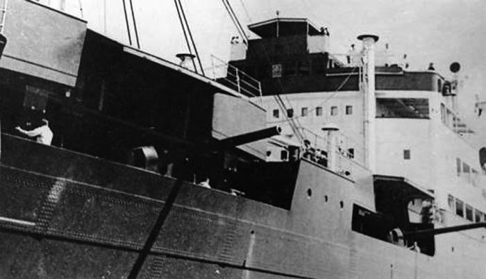 The Orion in 1940