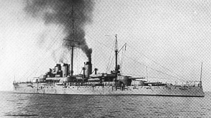 Battleship_Courbet-1913