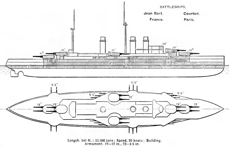 Courbet_class_diagrams_Brasseys_1912