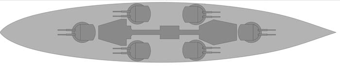 Nassau artillery configuration