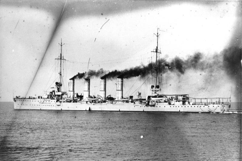 Breslau, Kleiner Kreuzer Stapellauf: 16.5.1911