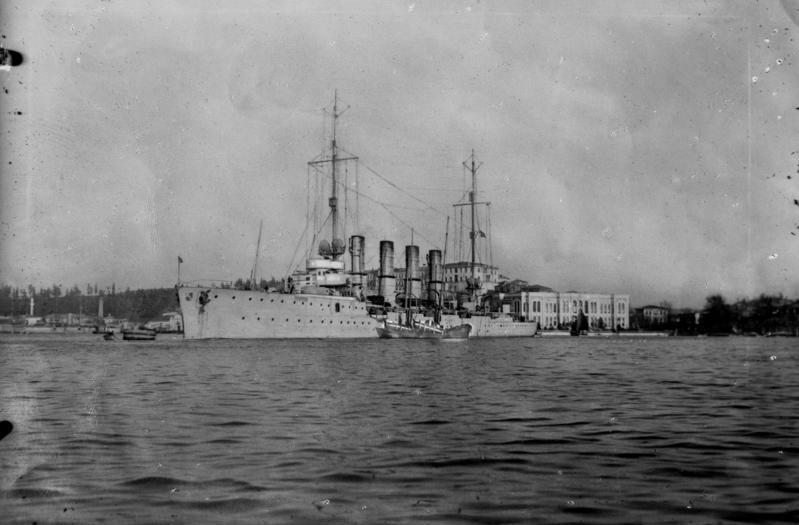 Kleiner Kreuzer Breslau Stapell.: 16.5.1911