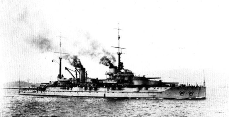 Battleship Provence in 1916