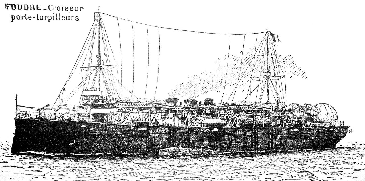 Torpedoe_boat_tender_Foudre_illu