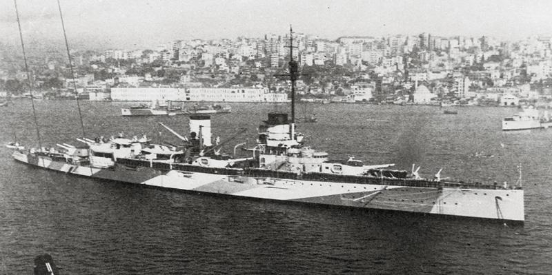 Yavuz in 1945.