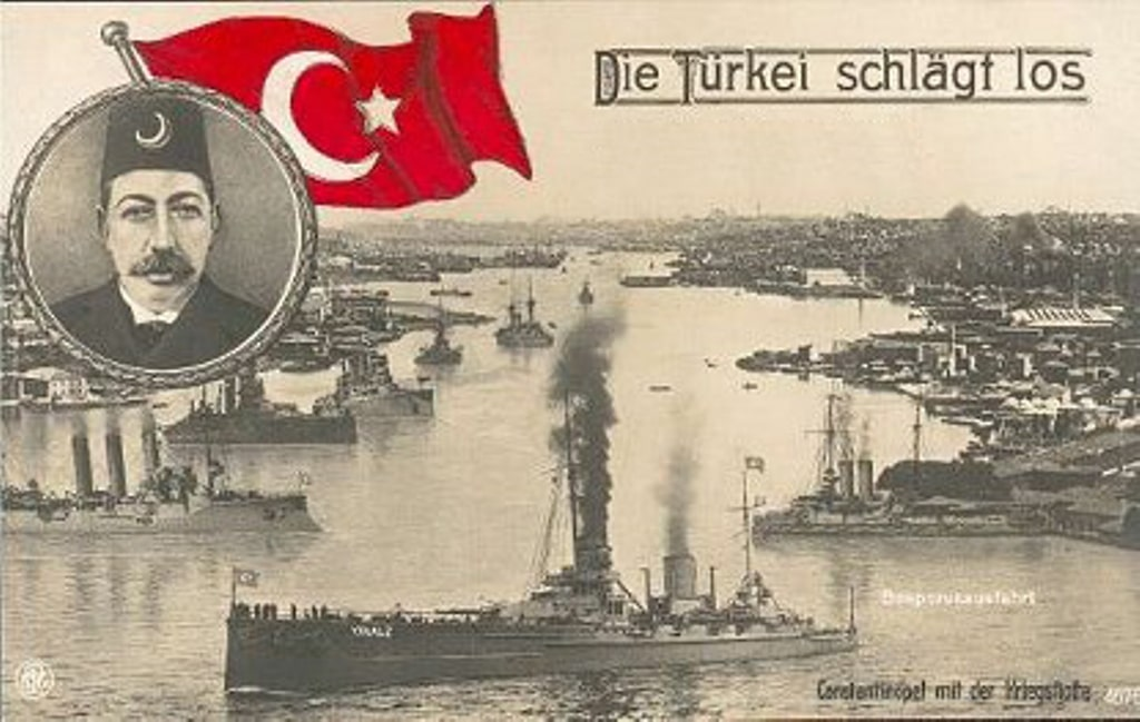 TurkishOttomanFleet1914_Postcard