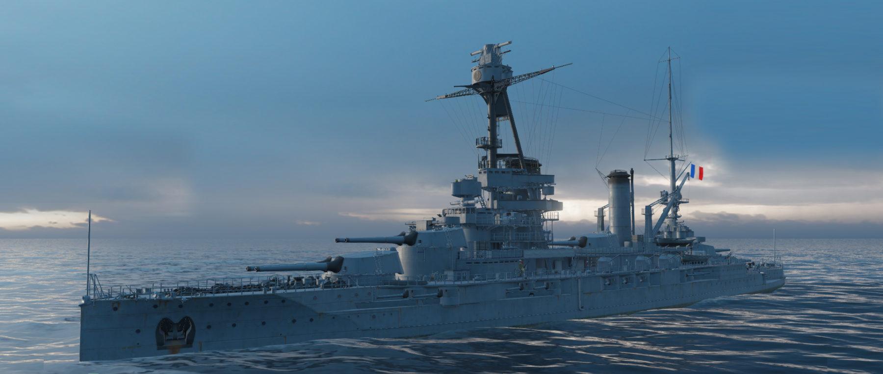 Bretagne class battleships
