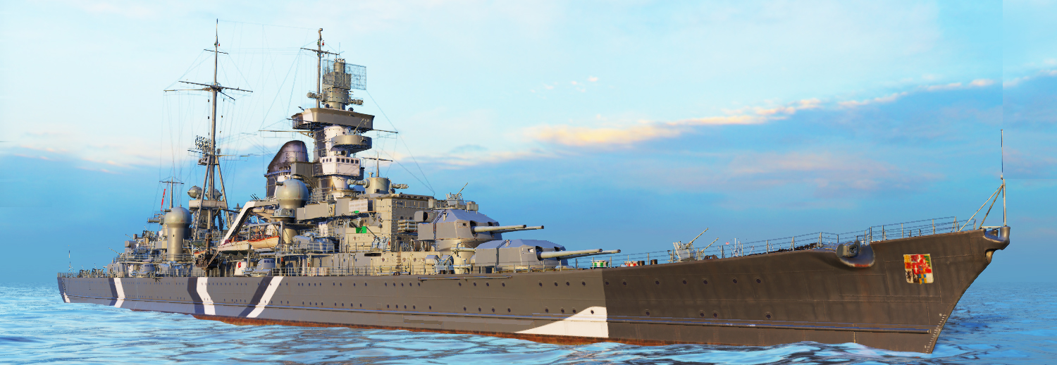 wow rendition of the Prinz Eugen