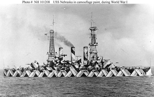 USS Nebraska 1918