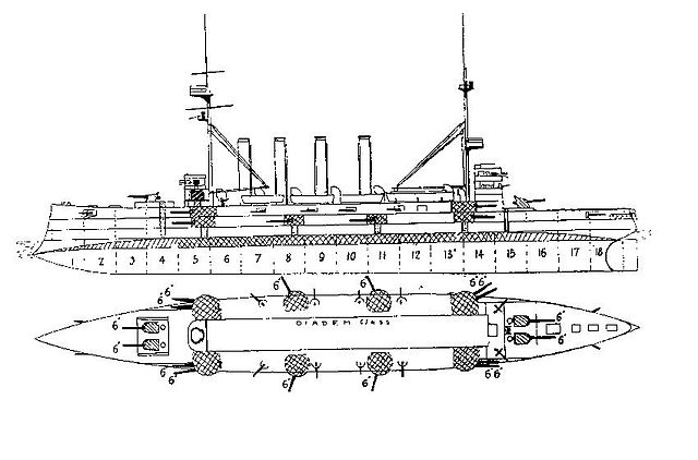 hms_diadem_1894_plan_and_elevation