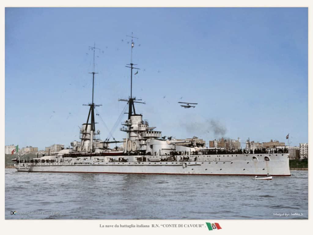 Conte di Cavour battleship
