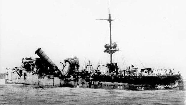 Emden wreck Keeling Island