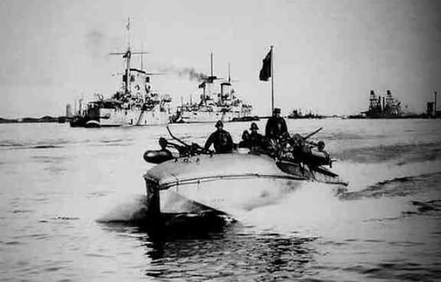 MAS, 1ere guerre mondiale