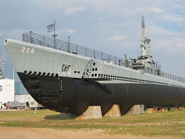 USS Drim preserved at Mobile Alabama