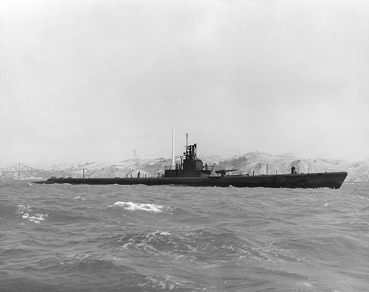 USS Wahoo, SS-238