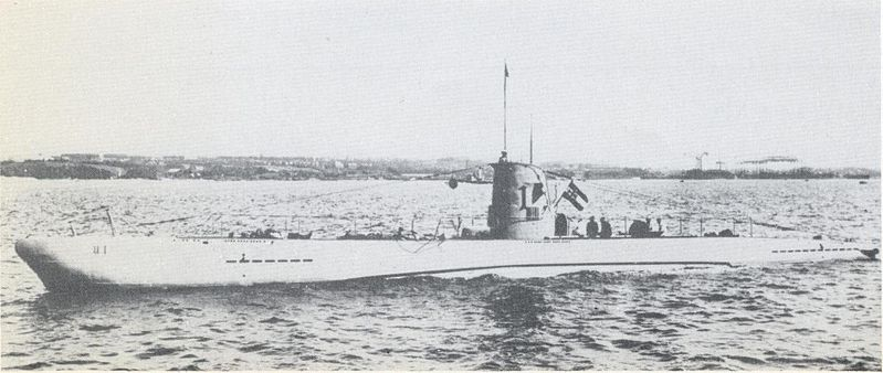U1 in service with the Kriegsmarine before the war