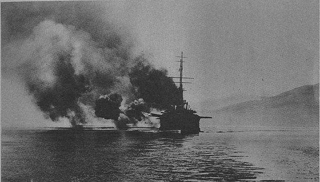 Mirabeau bombarding Athens