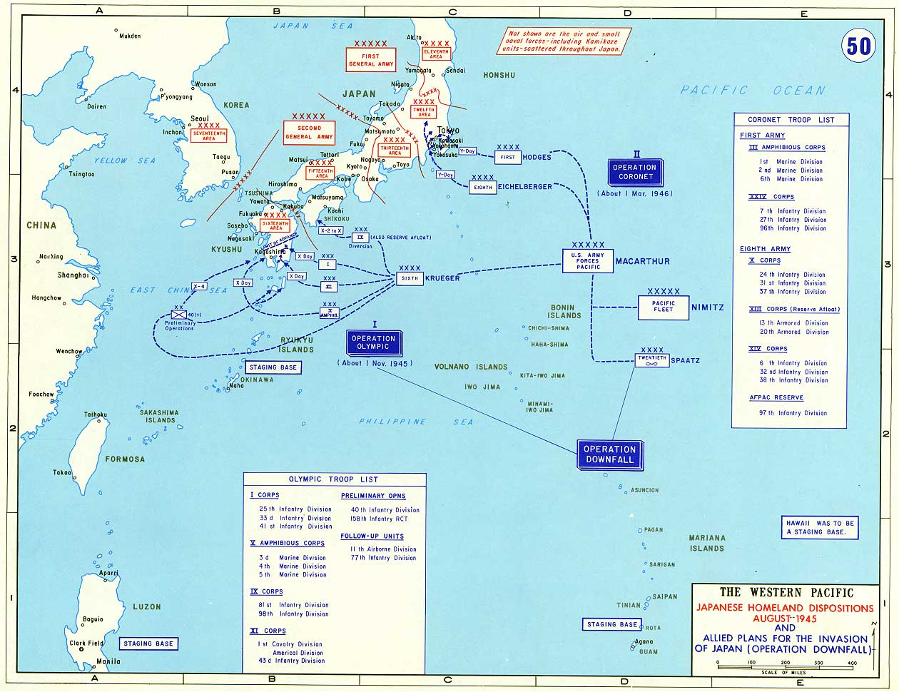 Us Navy In Ww Map Of Japan Us Naval Bases