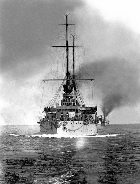 Rostislav at sea
