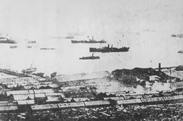The Beiyang fleet