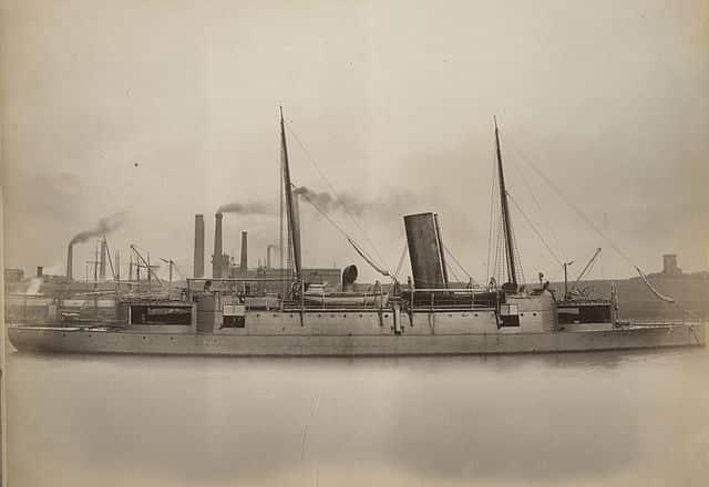 Chinese armoured cruiser Chao Yong