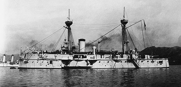 Japanese Ironclad Fuso