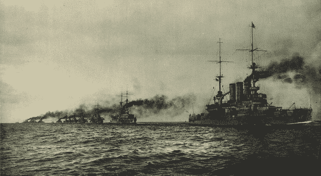 The high sea fleet pre-dreadnoughts battleline
