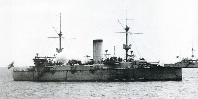 Japanese cruiser naniwa