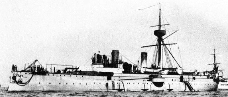 Armoured cruiser Jing Yuan