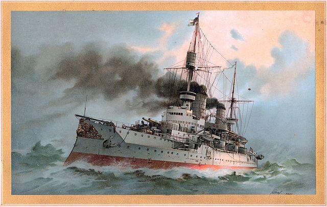 Kaiser Friedrich III lithograph