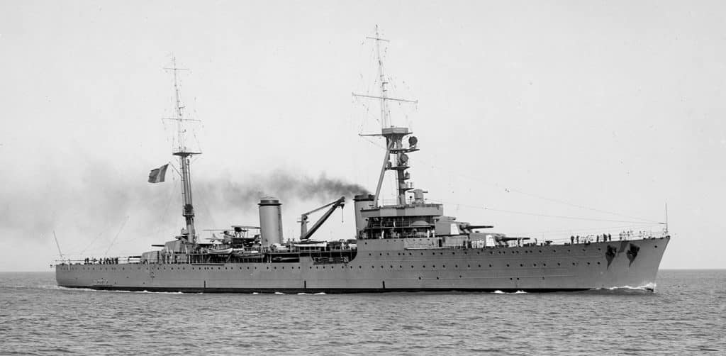 Tourville, of the Duquesne class