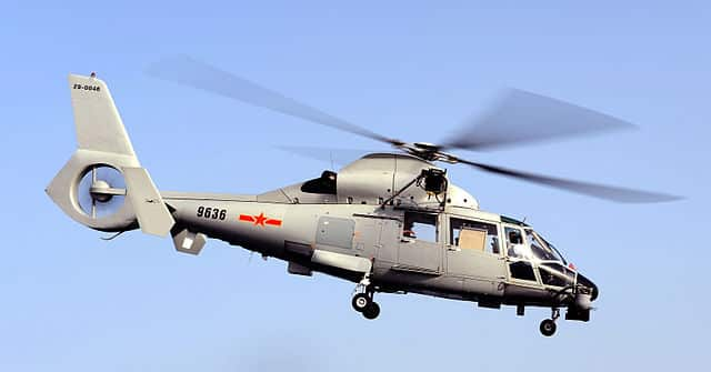 Z9 SAR helicopter