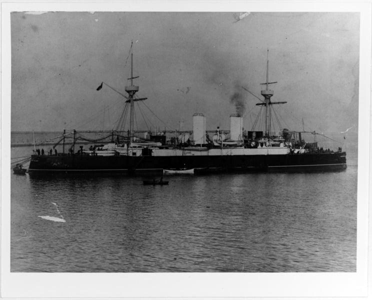 Ettore Fieramosca off Algiers