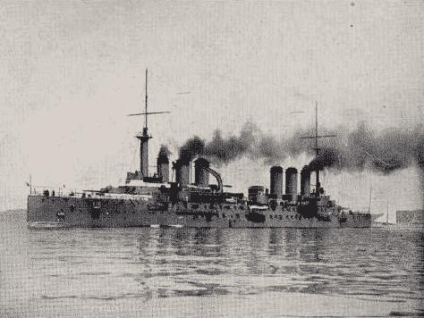 Edgar Quinet class Armoured cruisers