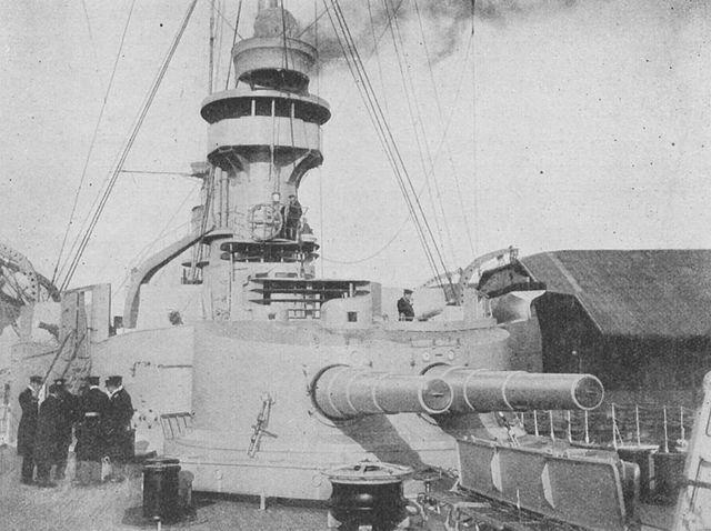 Scharnhorst rear turret