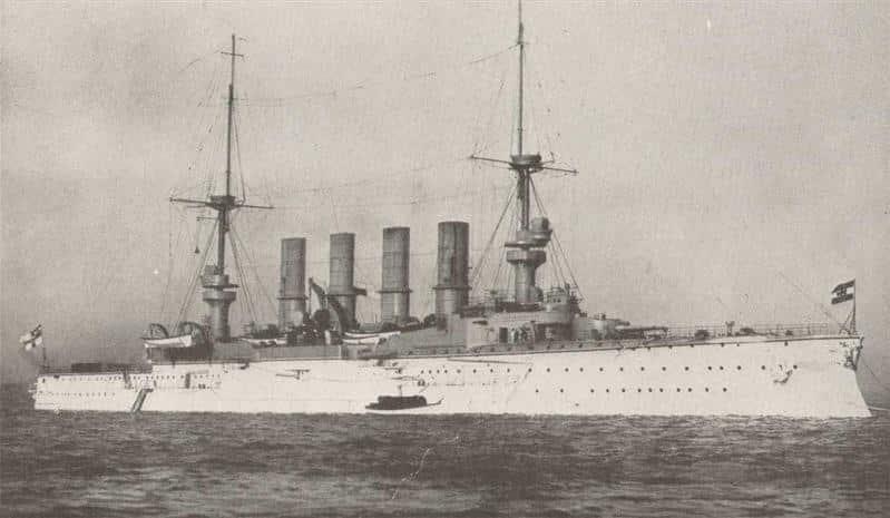 SMS Scharnhorst prewar
