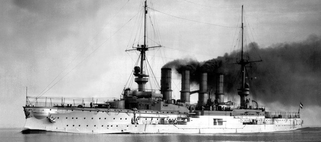 Armoured Cruiser Scharnhorst