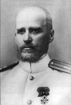 Admiral Andrei Augustovich Ebergard
