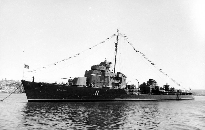 The previous ww2 Ognevoi class