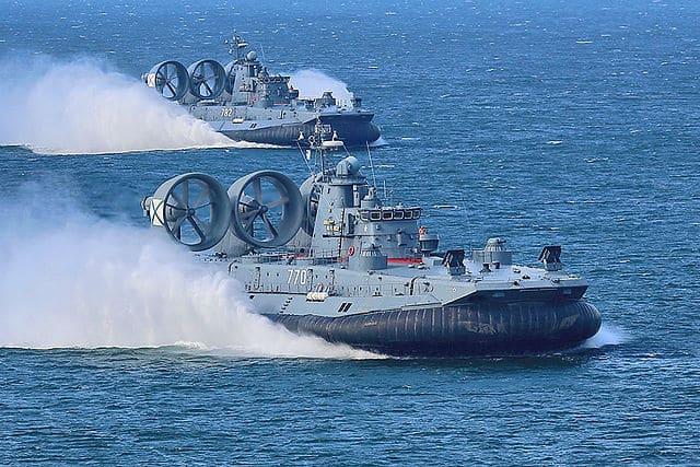 Pomornik class assault hovercrafts