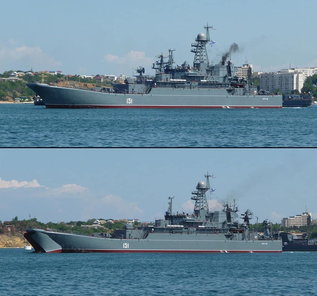 Ropucha class assault ships