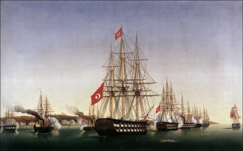 Postal Card Turkish Fleet