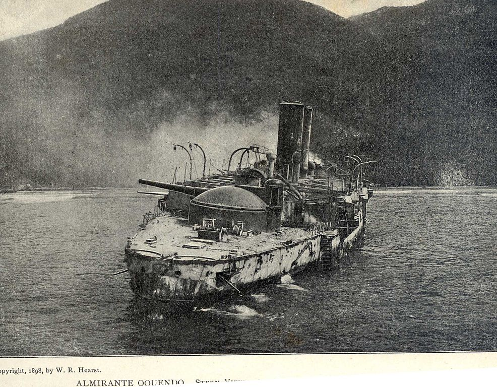 wreck of Admiral Ocquendo